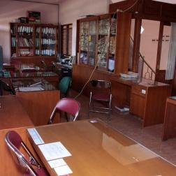 Agency office empty