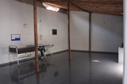 hospital bed room